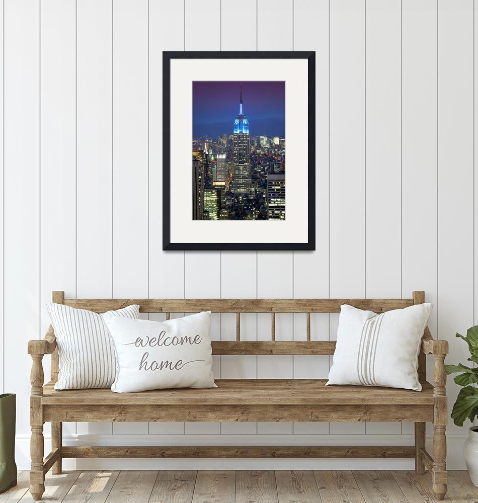 """Empire State Building""  (2011) by Inge-Johnsson"