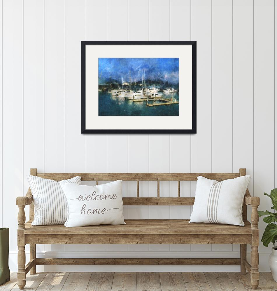 """""""Queensland Marina""""  by artbyclaire"""