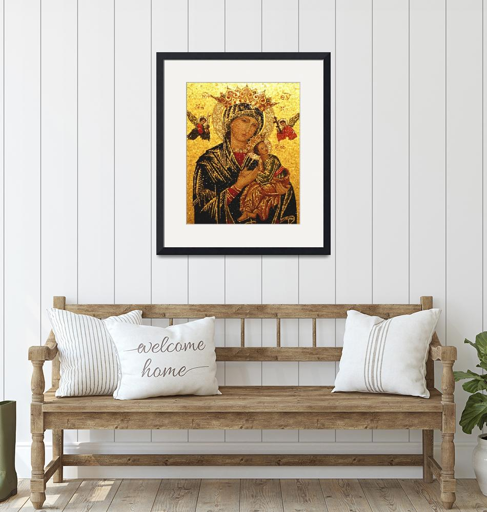 """""""Our Lady of Perpetual Help""""  by neilepi"""