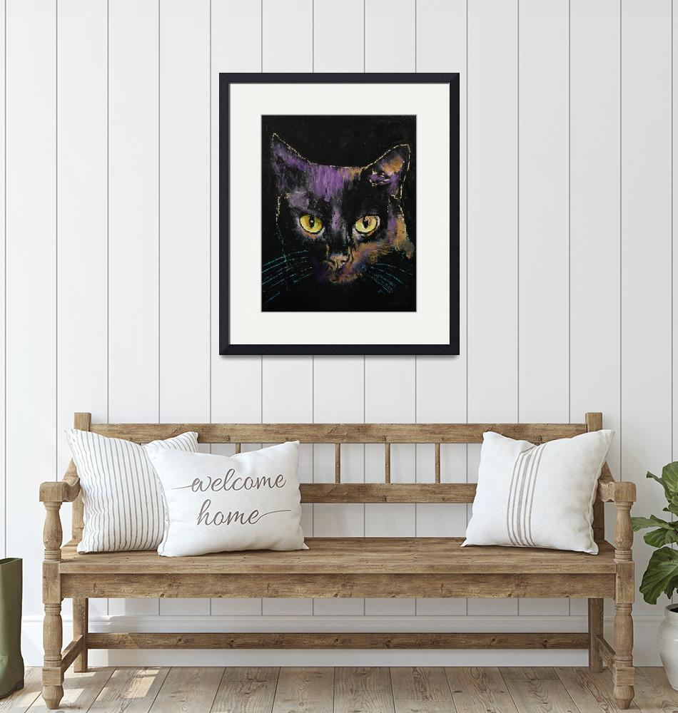 """""""Shadow Cat""""  by creese"""