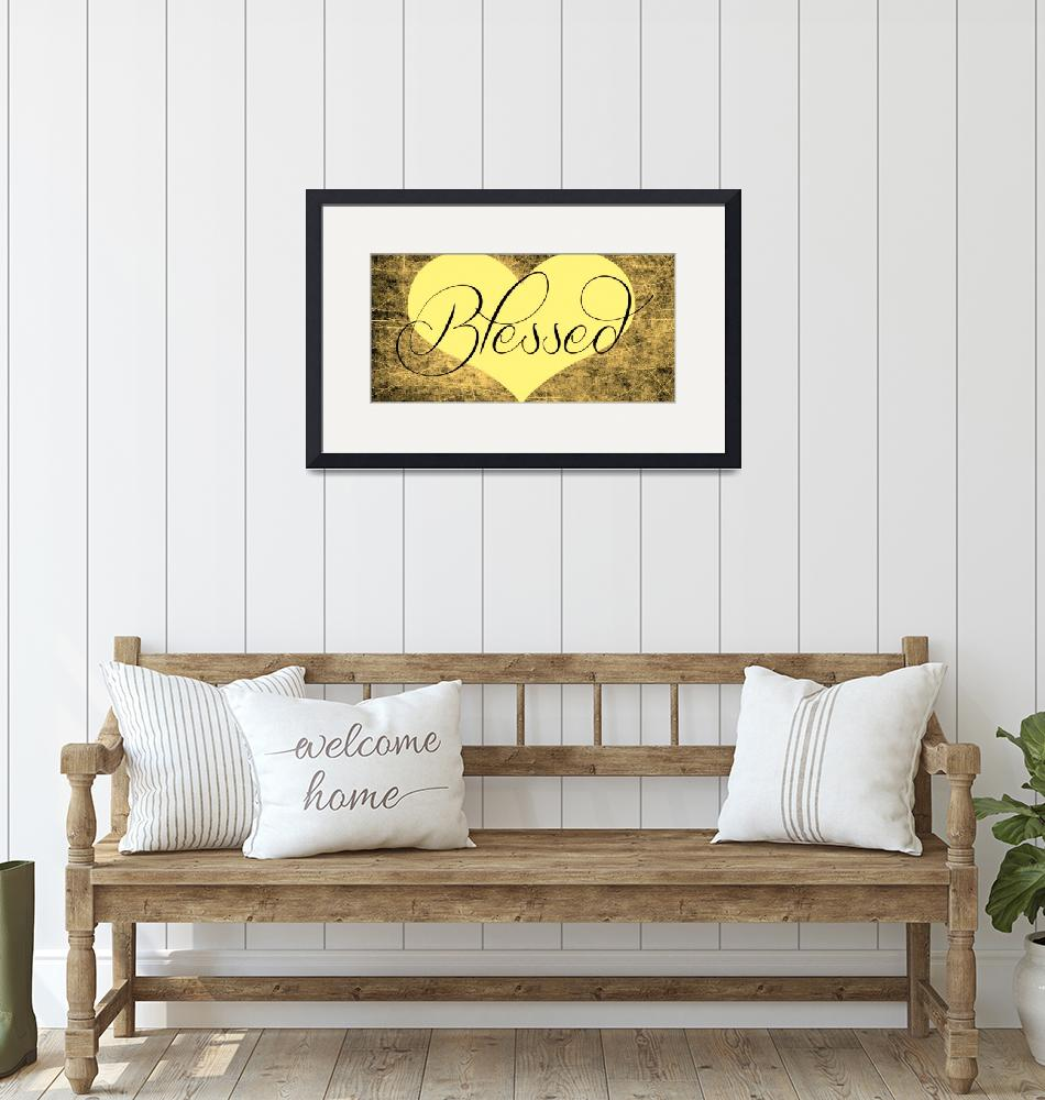 """""""blessed heart golds""""  by lizmix"""