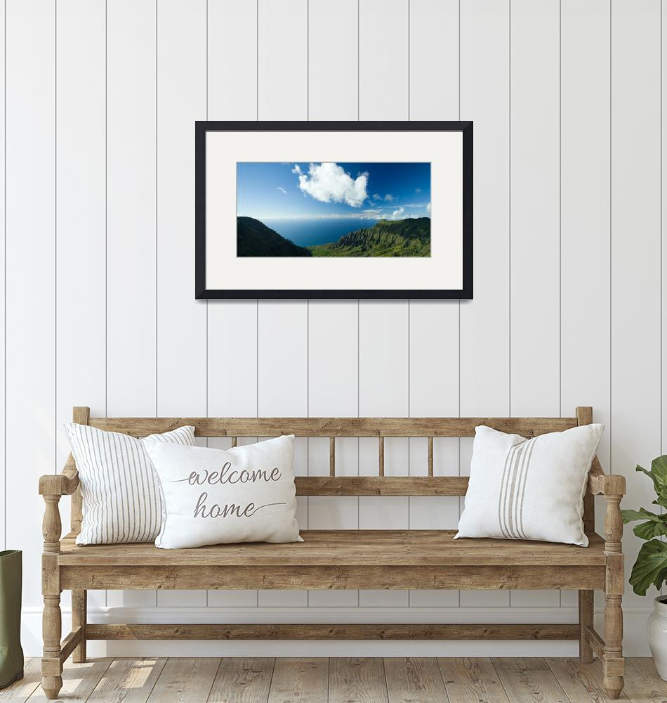 """""""Na Pali Lookout""""  (2008) by blisspixel"""