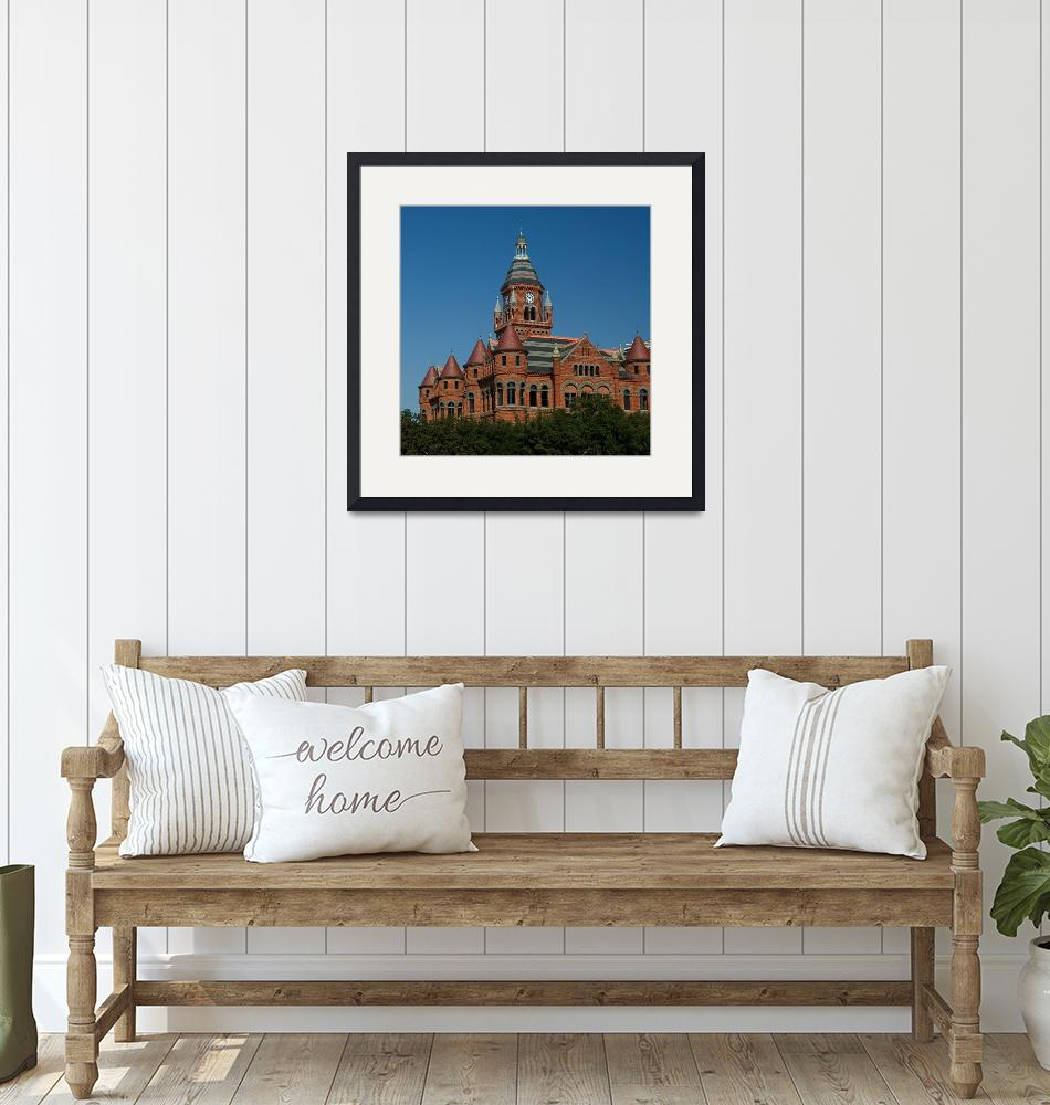 """""""Old Red Courthouse & Museum""""  (2008) by dewaun"""