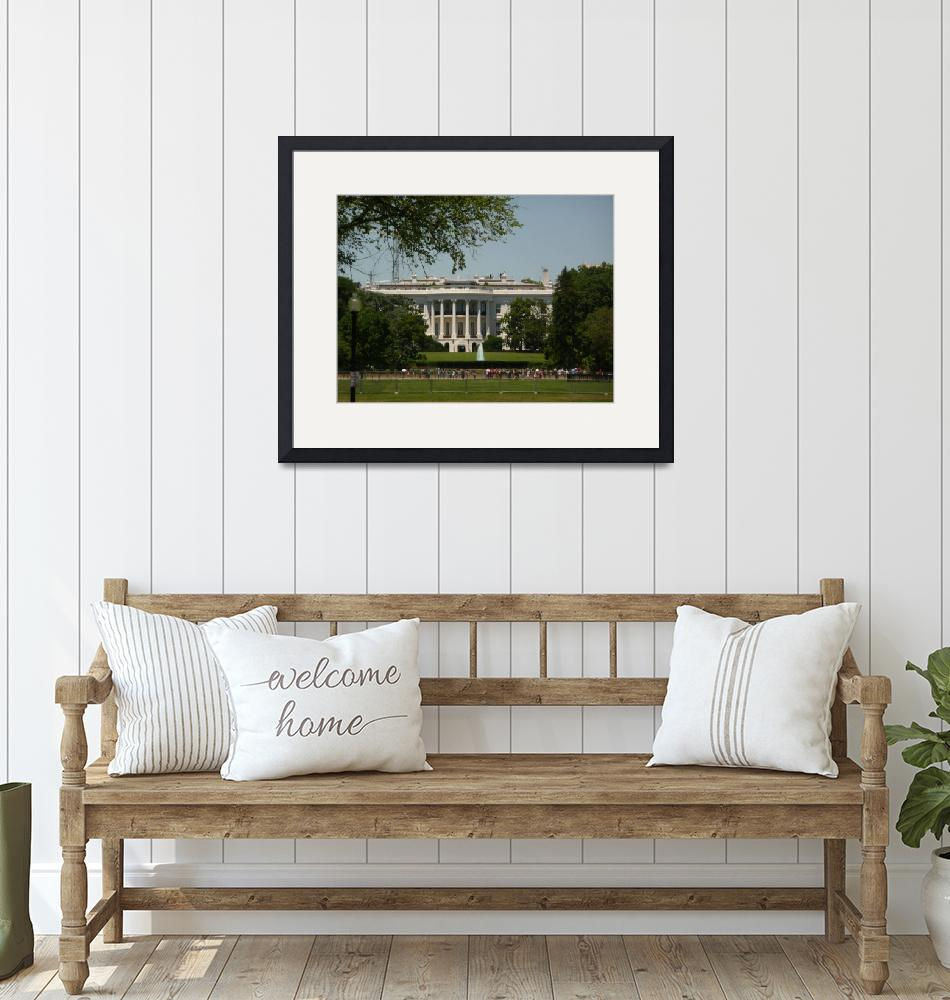 """""""The White House""""  (2010) by photographybydonna"""