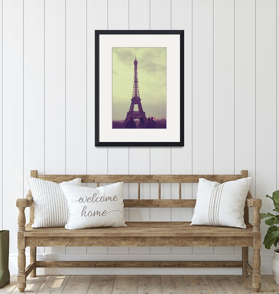"""""""View of the Eiffel Tower""""  (2010) by Jdillon"""