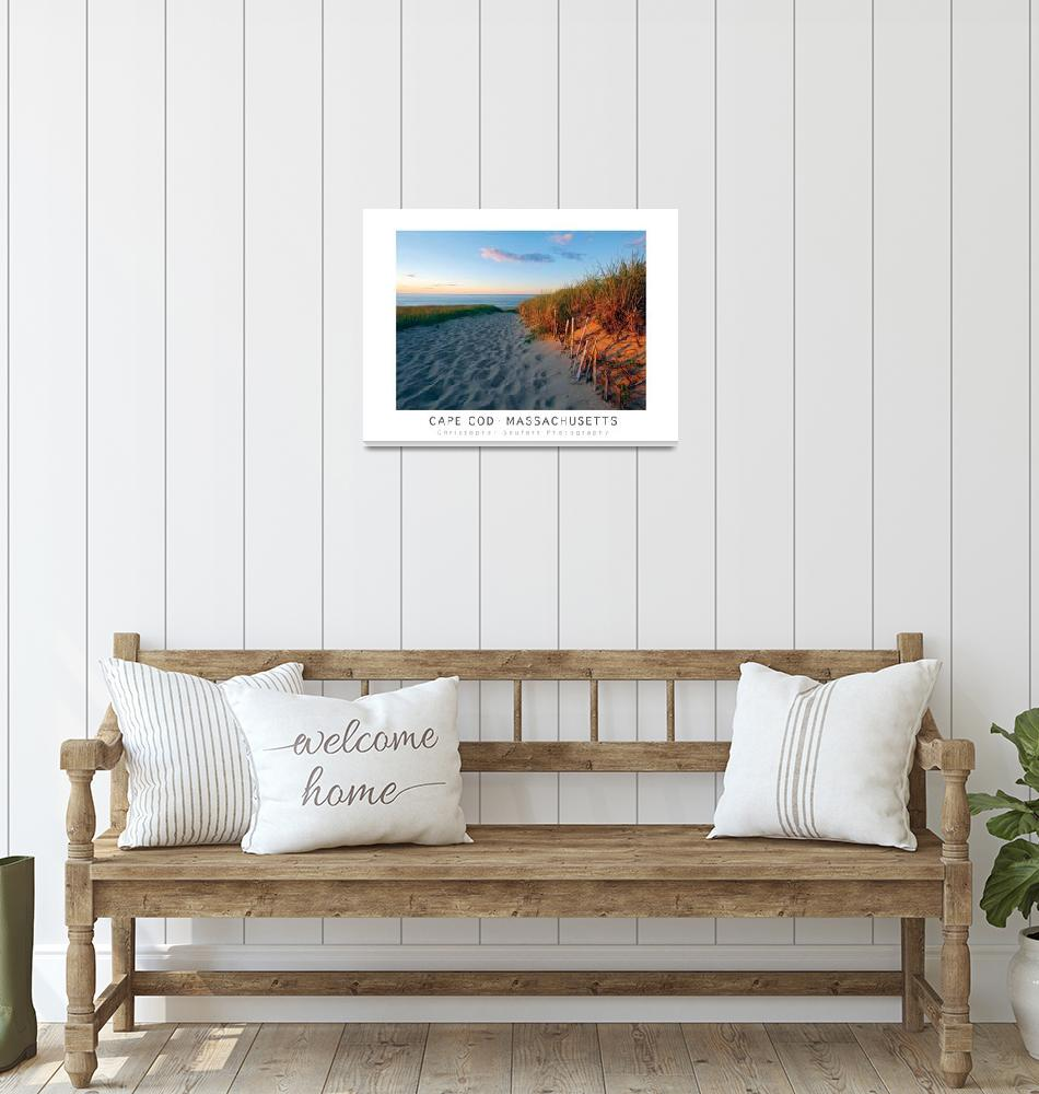 """""""Iconic Cape Cod Poster""""  (2020) by ChrisSeufert"""
