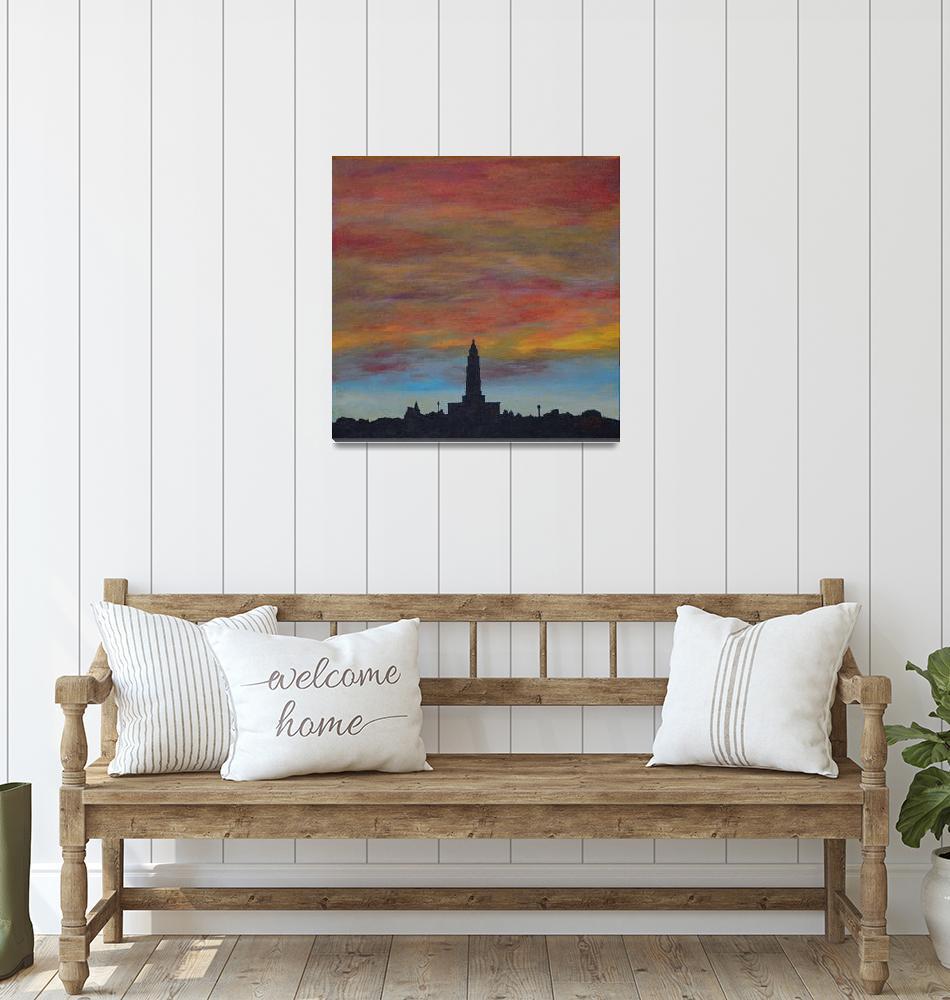 """Sunset Over Alexandria""  (2015) by Karbstein"