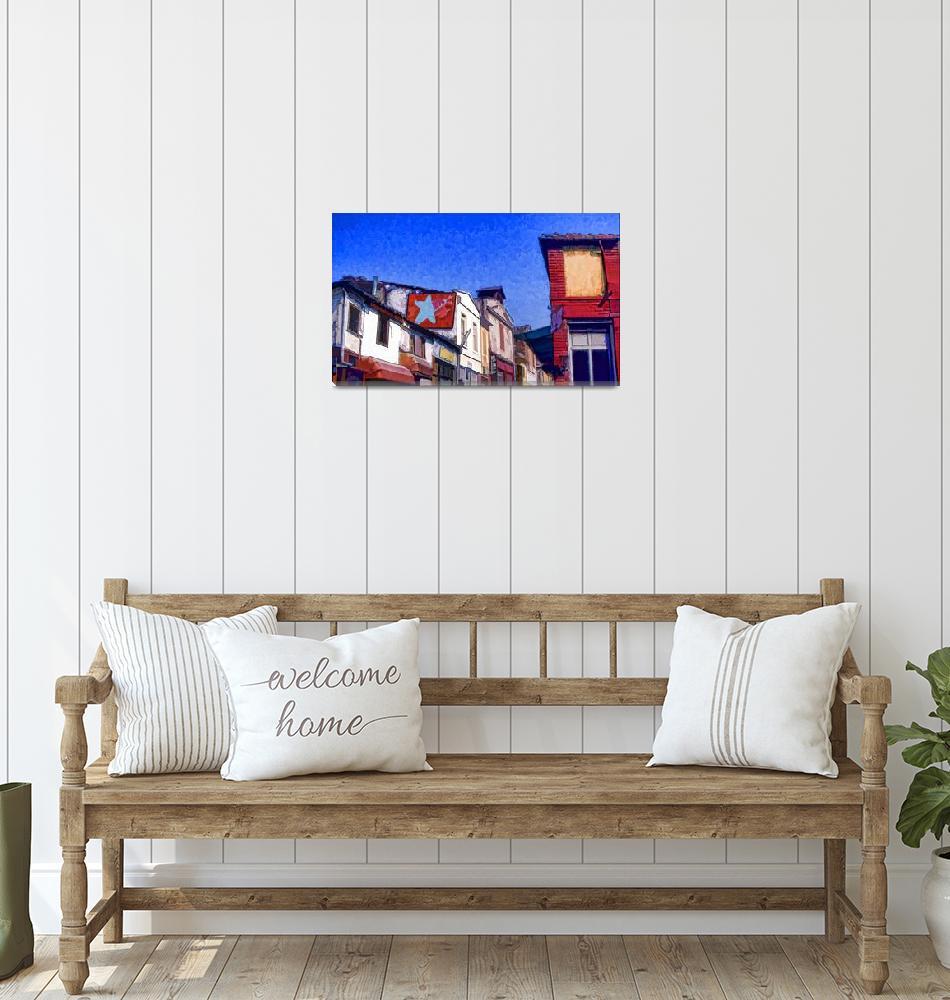 """Bazaar croppedInkI""  by PierreDumas"