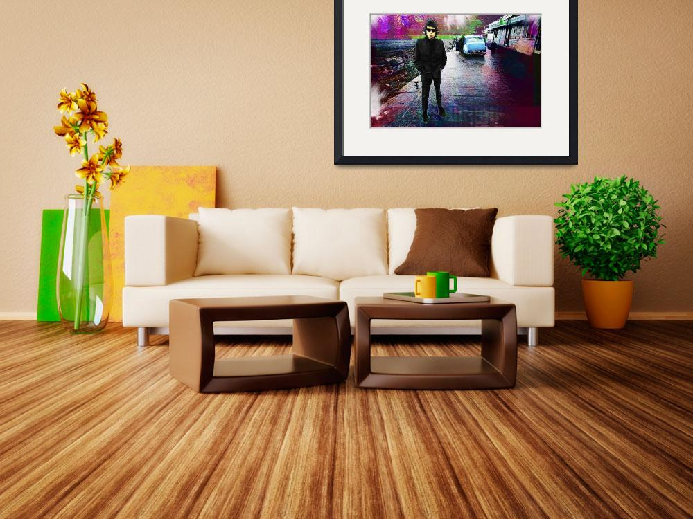 """""""Bob Dylan No Direction Home 2""""  by RubinoFineArt"""