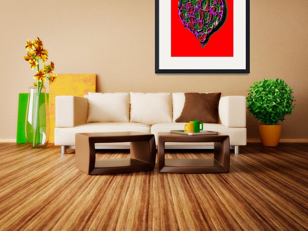 """Haitian Heart - 6""  (2010) by ousseau-arts-designs"