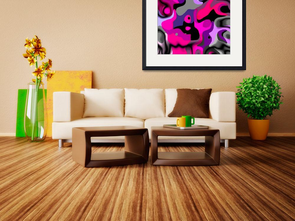 """""""ZIZZAGO Art Abstract Multi Color World AA&quot  (2010) by shanmaree"""