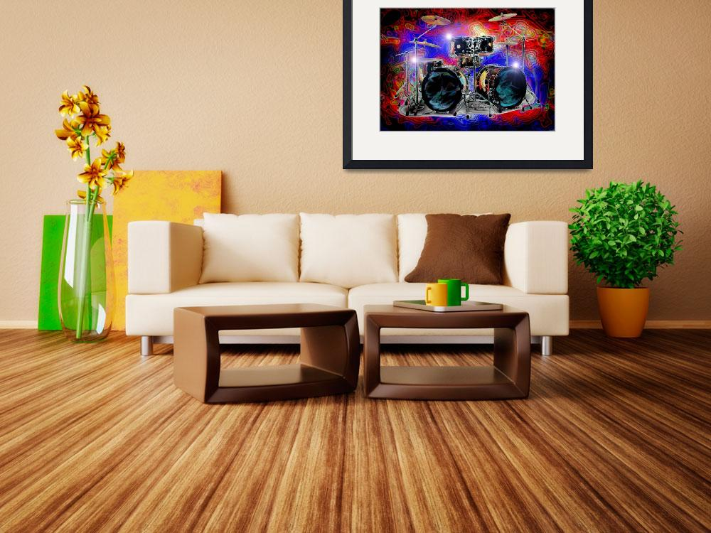 """""""Psychedelic Drums&quot  (2012) by jt85"""