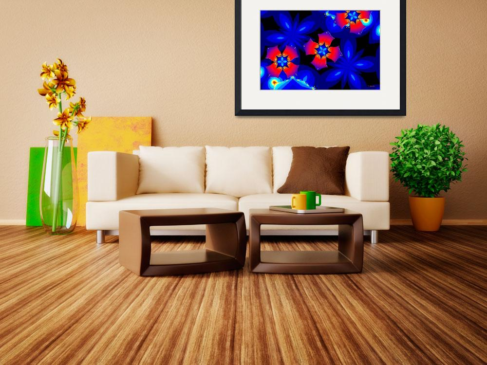 """""""Floral Fractal Fantasy 2&quot  (2011) by Chicagoartist1"""