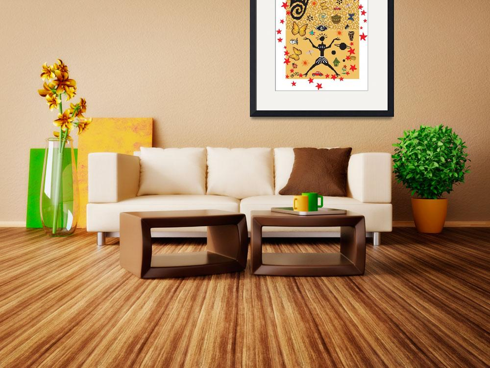 """""""African Design&quot  (2010) by Christinebeth"""