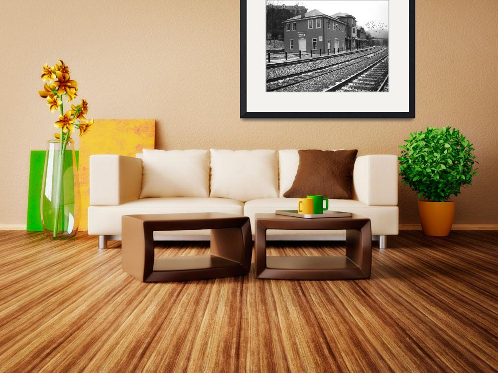 """""""Hinton Train Station&quot  (2010) by douglilly"""