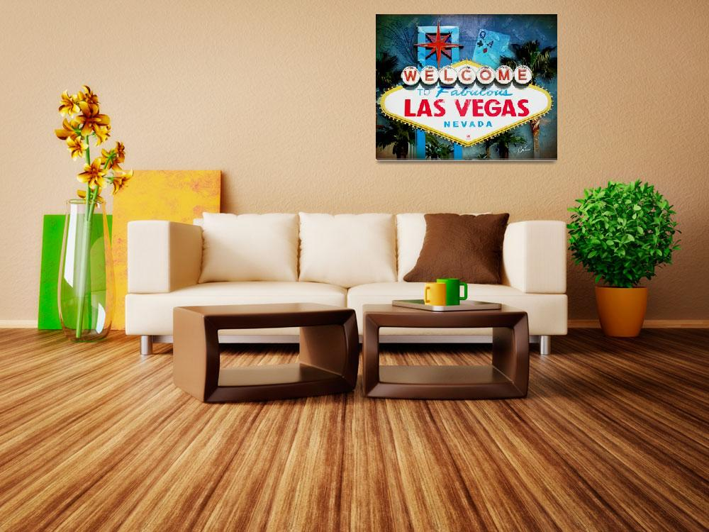 """""""Vegas!&quot  (2013) by Corinagallery"""