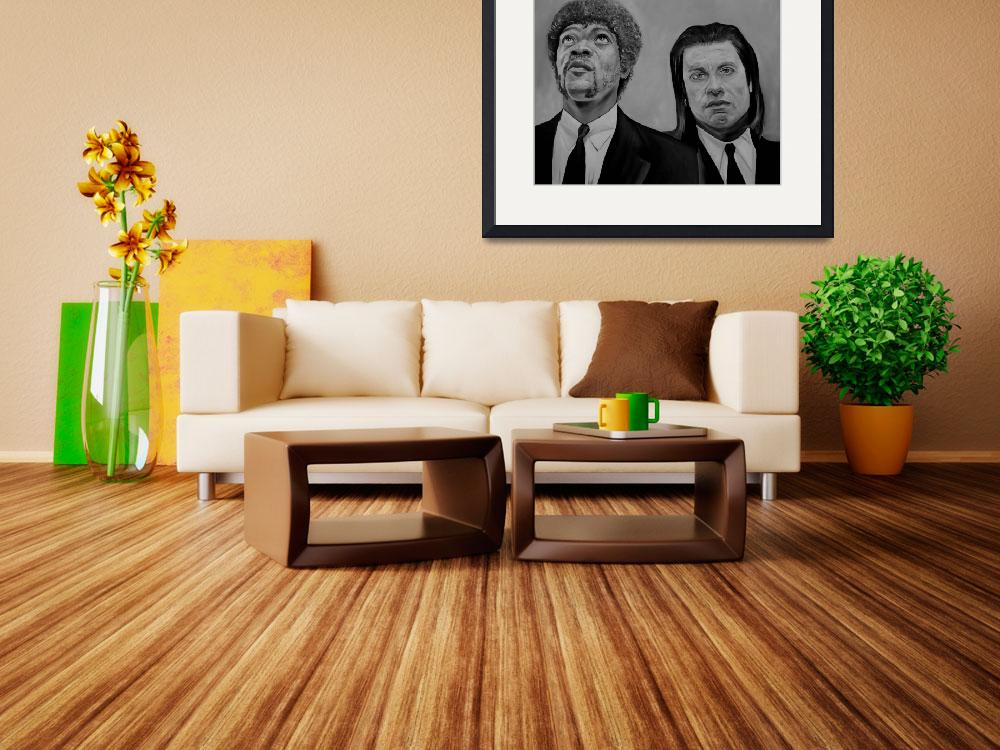 """""""Pulp Fiction&quot  by iconicarts"""