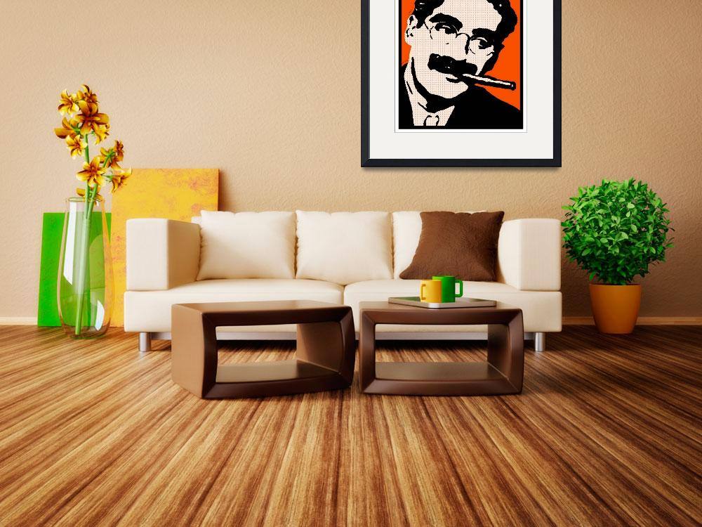 """""""GROUCHO MARX&quot  by thegriffinpassant"""