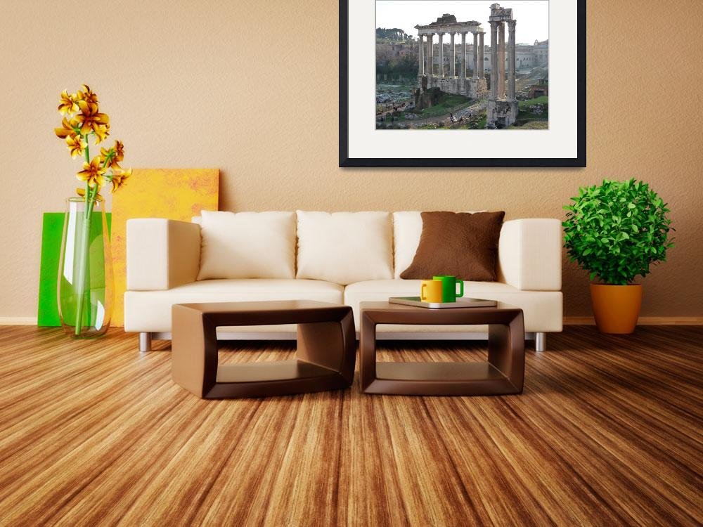 """""""Roman Forum&quot  (2008) by brianmrhodes"""