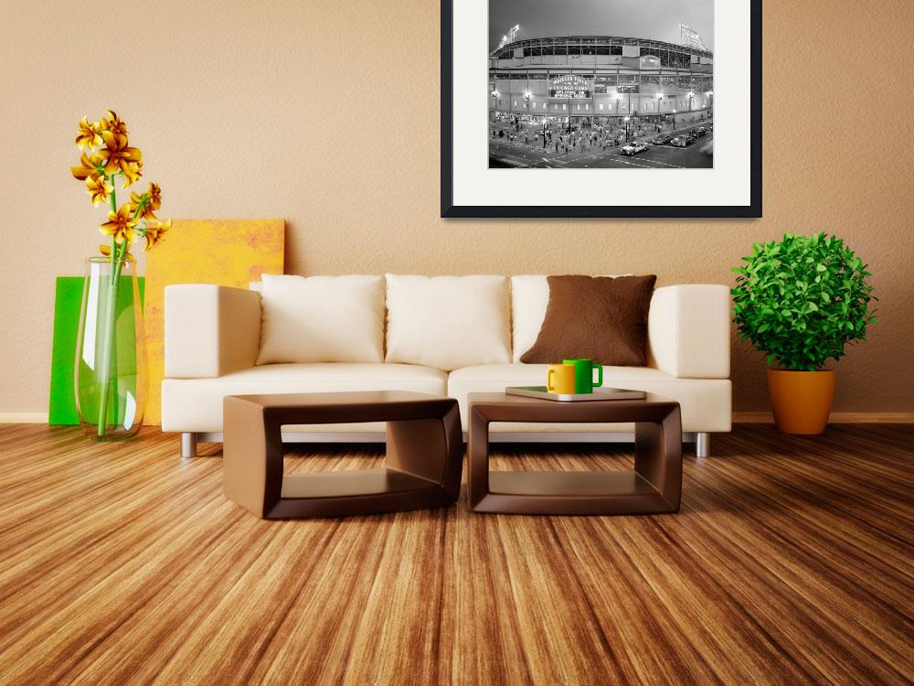 """""""Wrigley Field, Chicago&quot  by Panoramic_Images"""