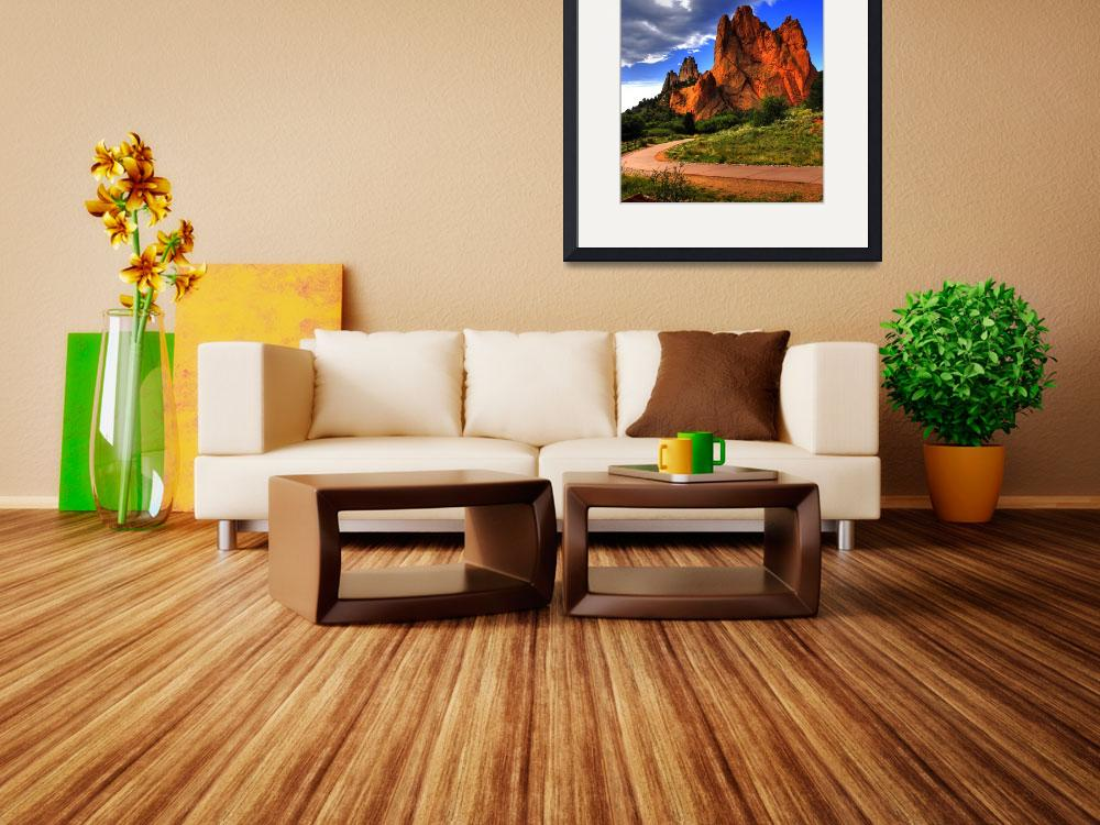 """""""Garden of the gods&quot  (2010) by mellow"""