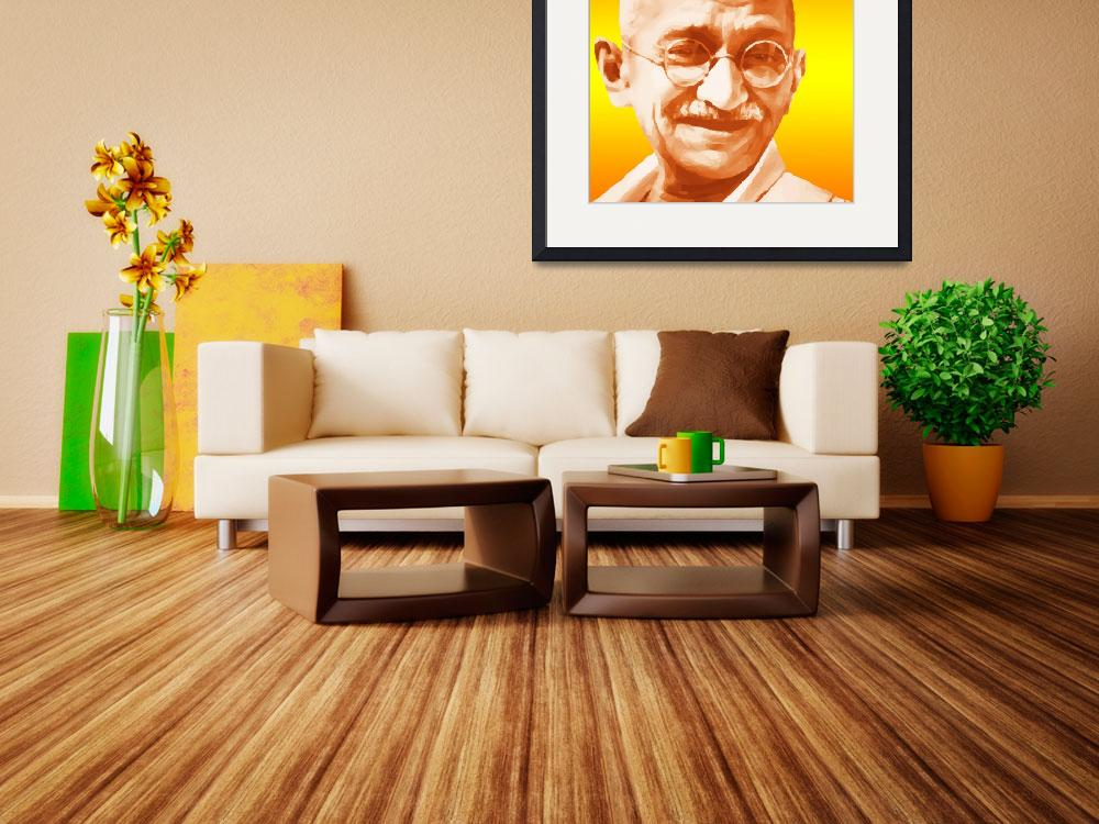 """""""Gandhi&quot  (2010) by Brian60"""