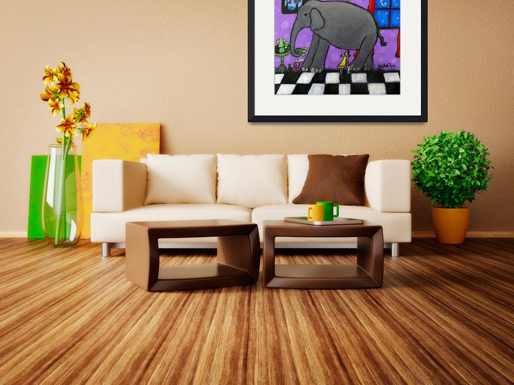 """The Elephant In The Room""  (2014) by juliryan"