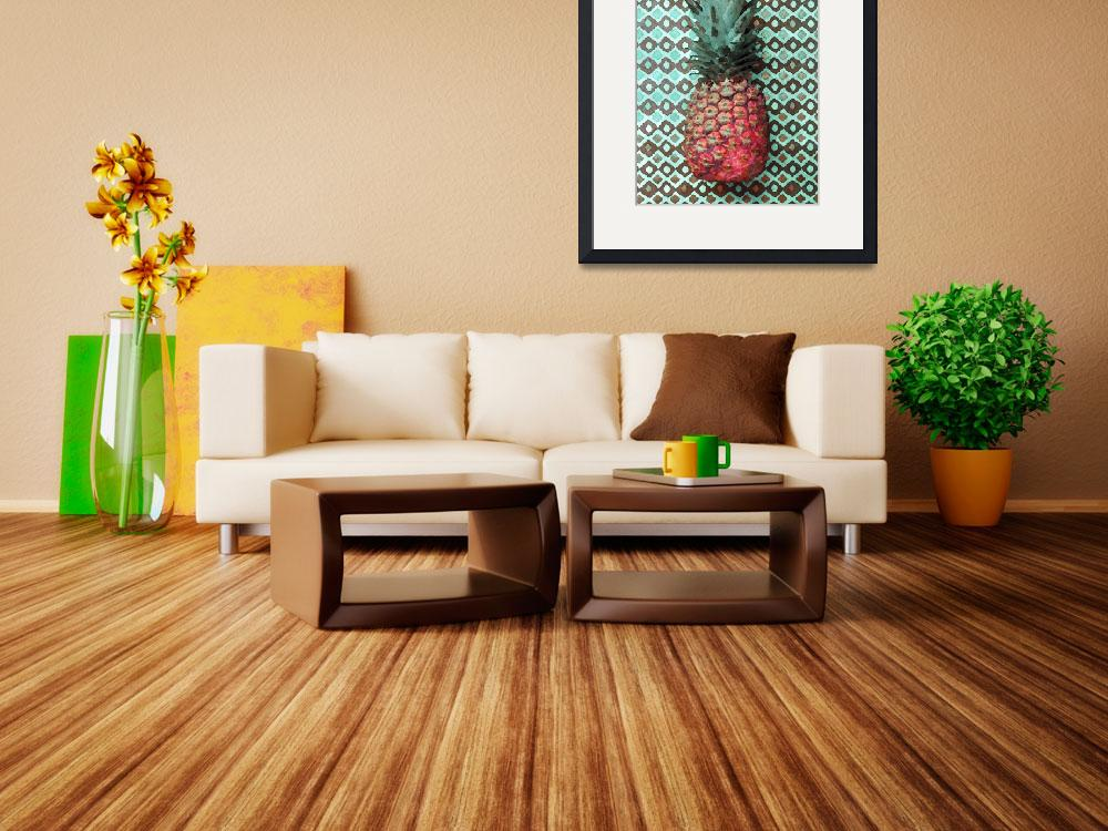 """""""ORL-5291 Pineapple Decor&quot  by Aneri"""