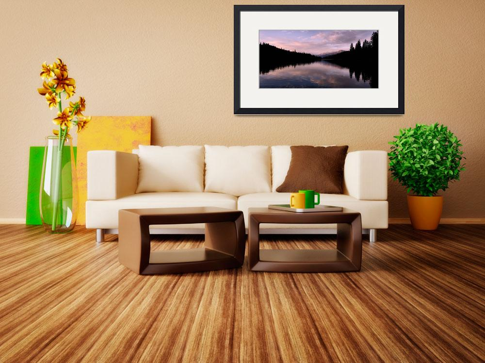 """""""Hume Lake panorama&quot  (2010) by esfotoclix"""