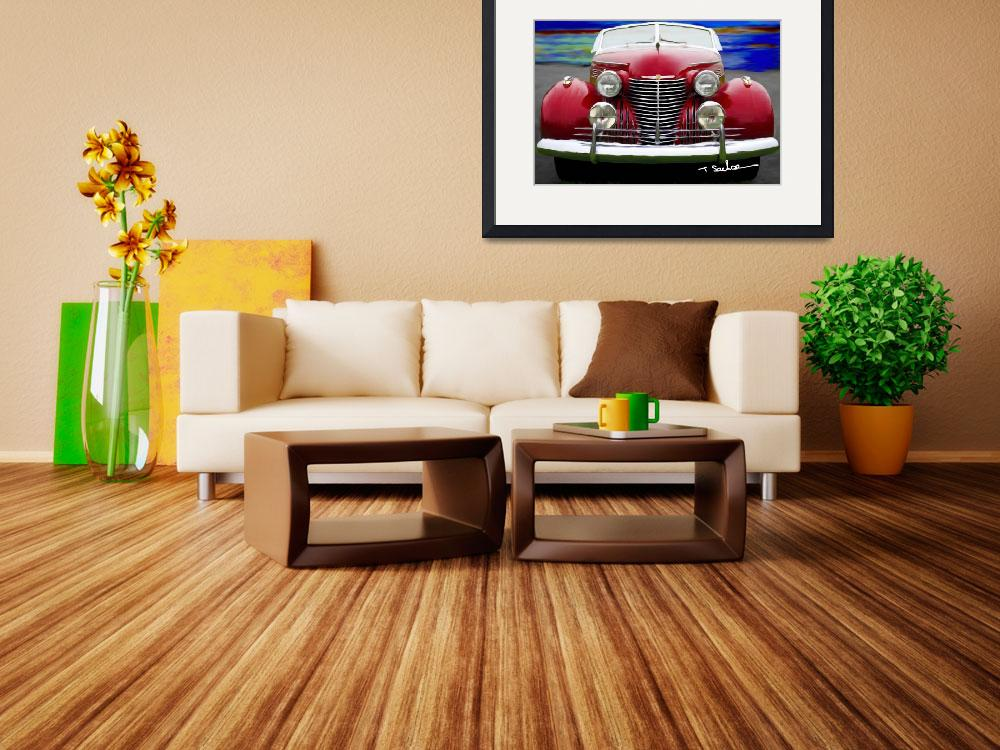 """""""1940 Cadillac Convertible&quot  (2009) by ArtbySachse"""