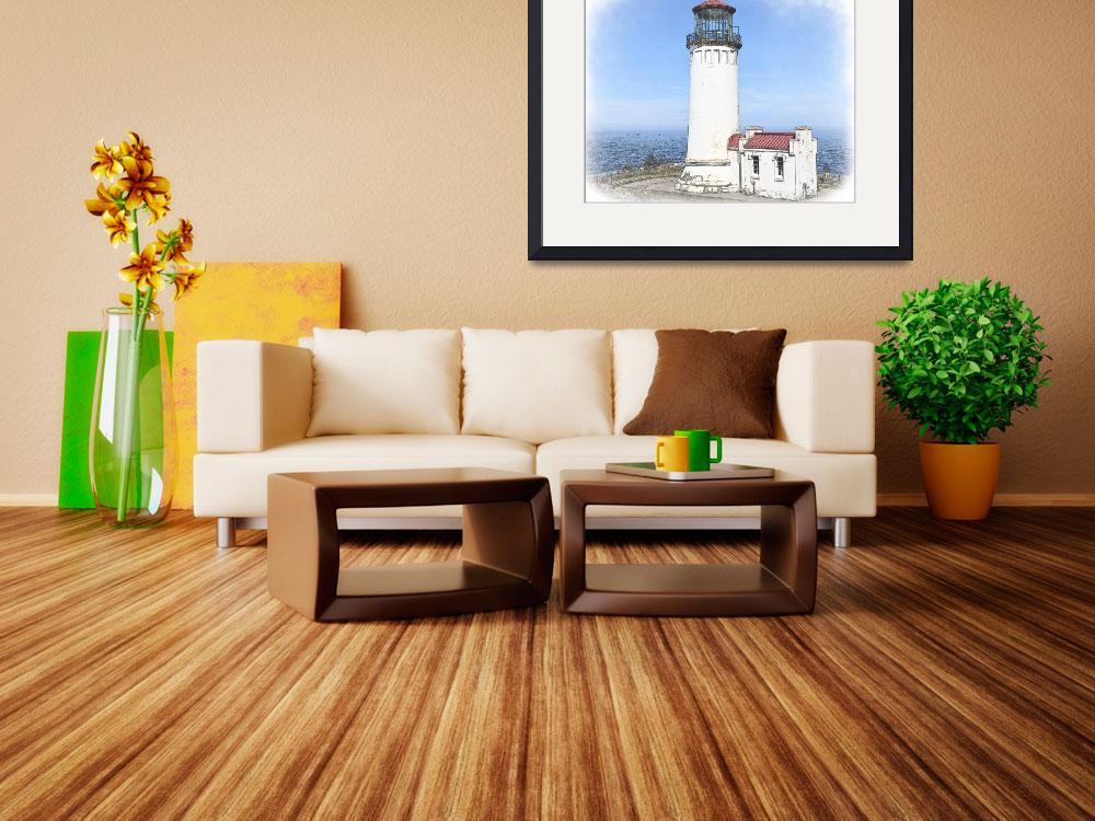 """North Head Lighthouse&quot  (2009) by Kirtdtisdale"