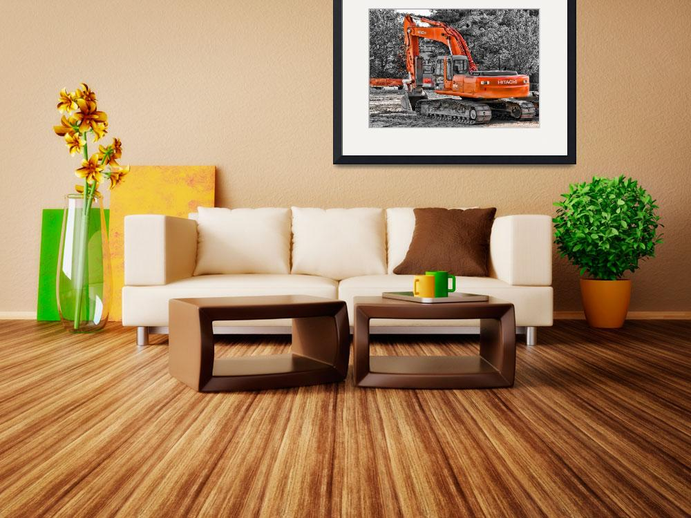 """""""Hitachi Zaxis 270&quot  (2008) by aknbean"""