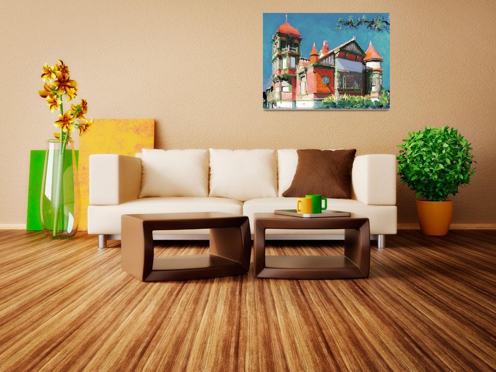 """Villa Montezuma San Diego by RD Riccoboni&quot  by RDRiccoboni"