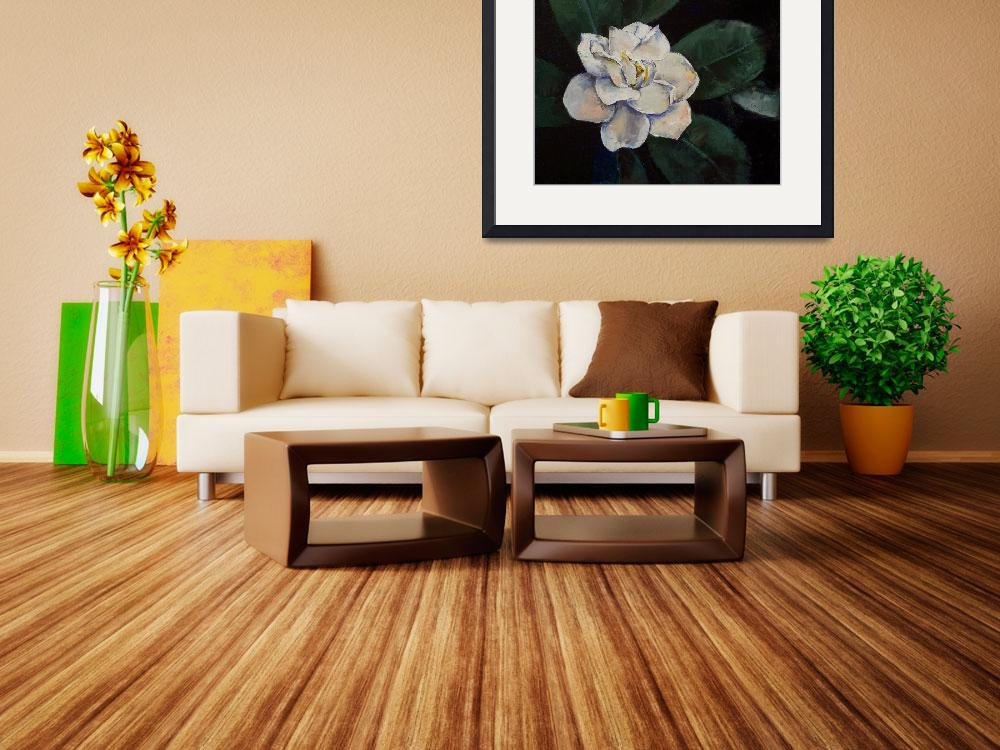 """Gardenia Oil Painting&quot  by creese"