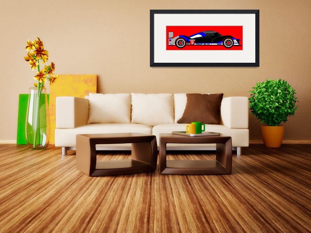 """""""The Le Mans Winning Car 2009&quot  by Lonvig"""