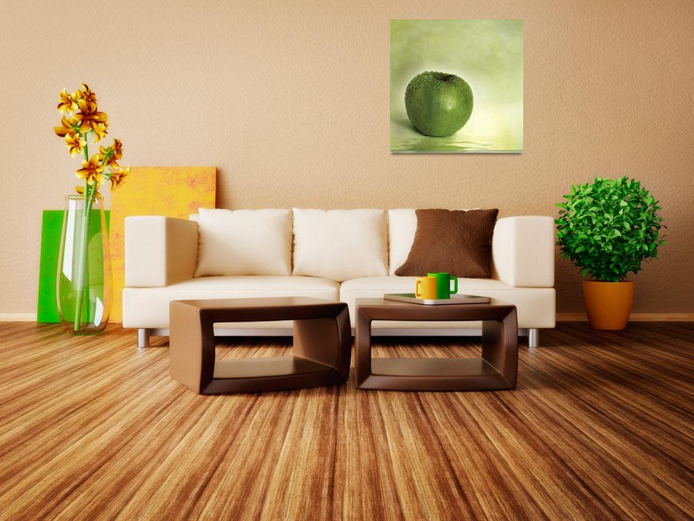 """""""just green&quot  by Piri"""