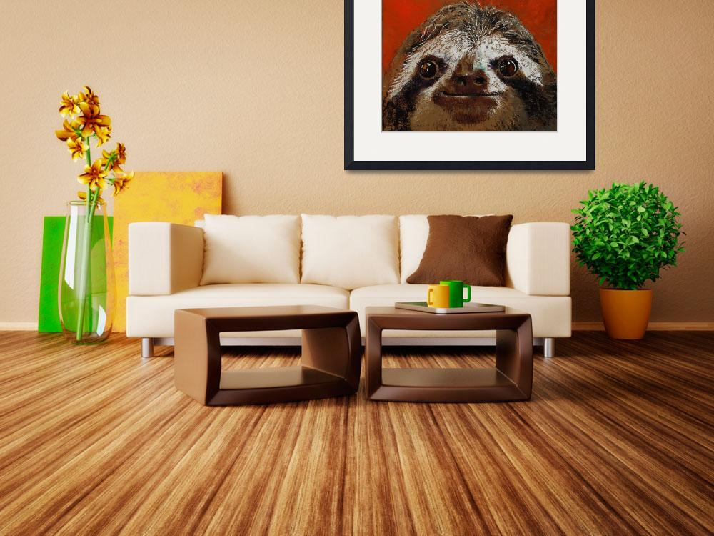 """""""Sloth&quot  by creese"""