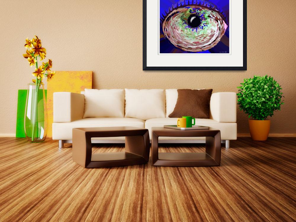"""""""The Eye&quot  (2009) by TamIshArt"""
