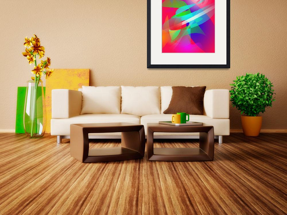 """""""Flowers in the Living Room Art&quot  (2013) by masabo"""