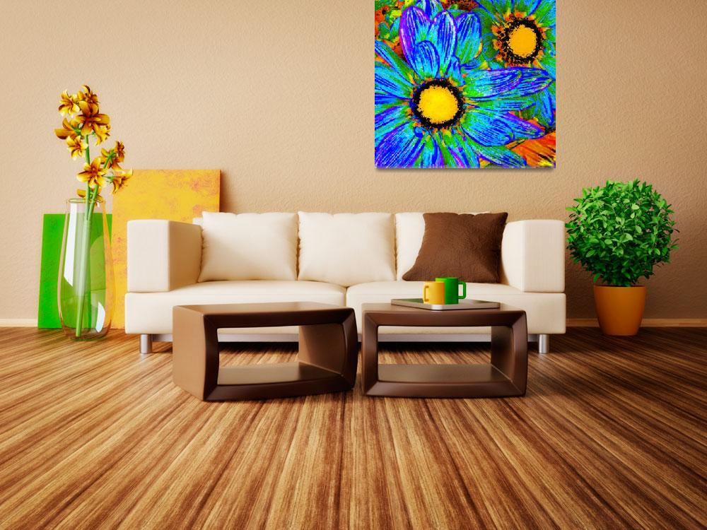 """""""Pop Daisies 4&quot  (2012) by AmyVangsgard"""