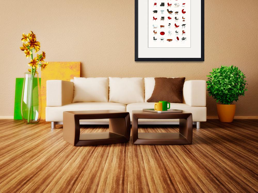 """""""Mid-Century Modern Collection (Neutral)&quot  (2009) by jamesprovost"""