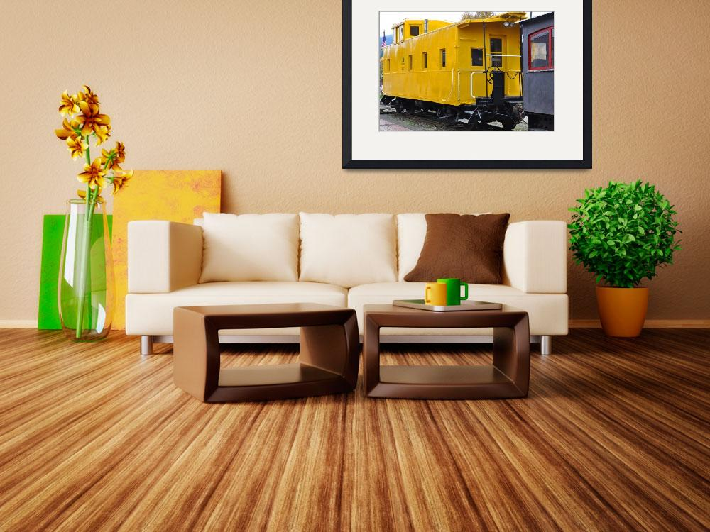 """""""The Yellow Train&quot  (2013) by Kirtdtisdale"""