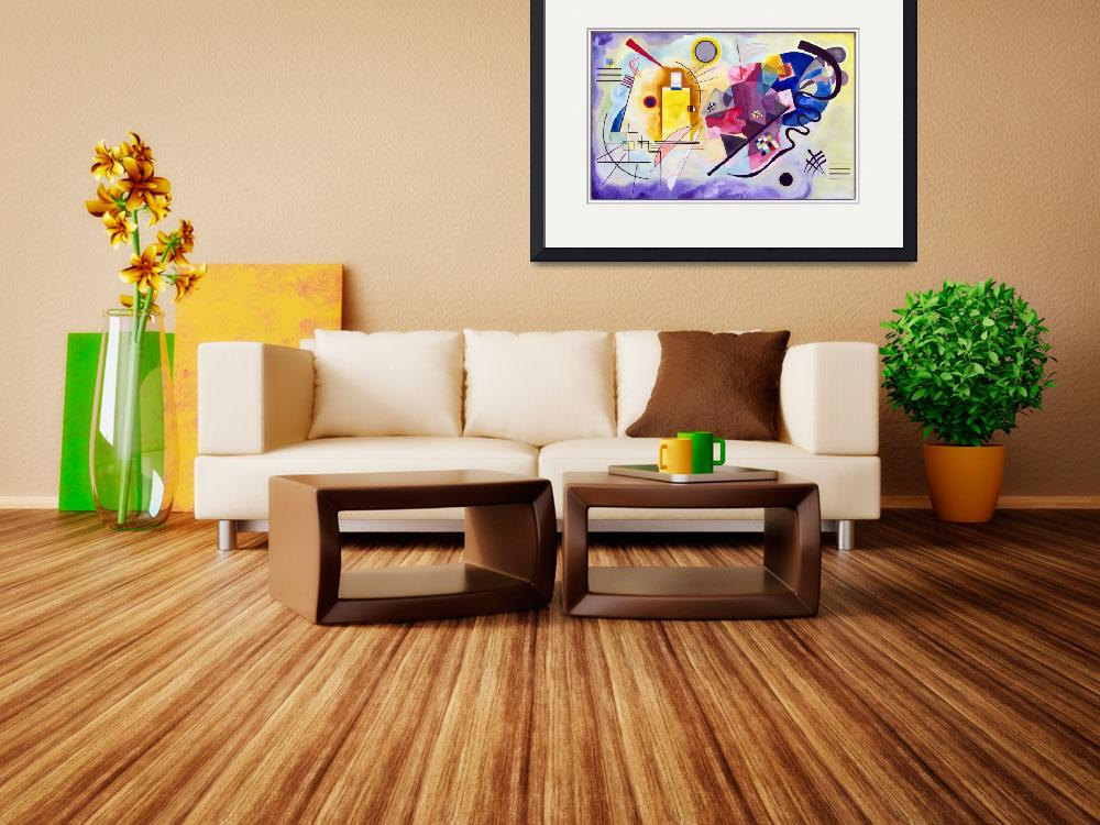 """""""Vasily Kandinsky Yellow-Red-Blue&quot  by PDGraphics"""