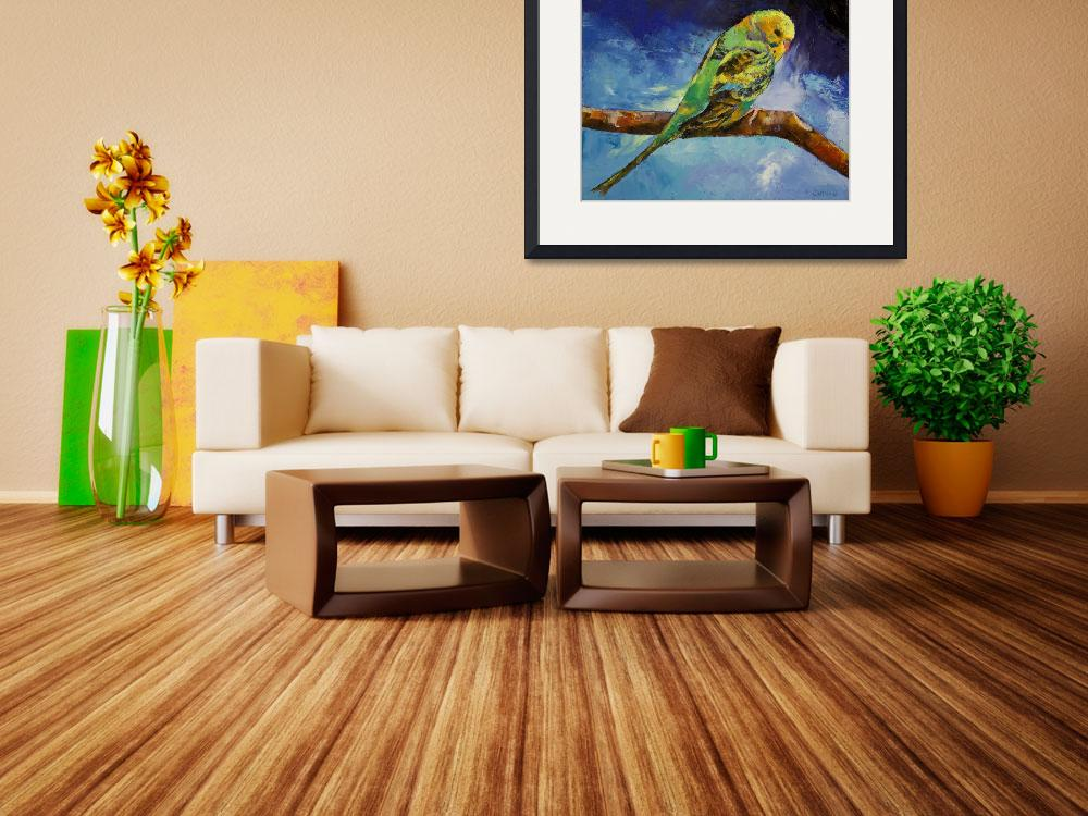 """""""Wild Parakeet&quot  by creese"""