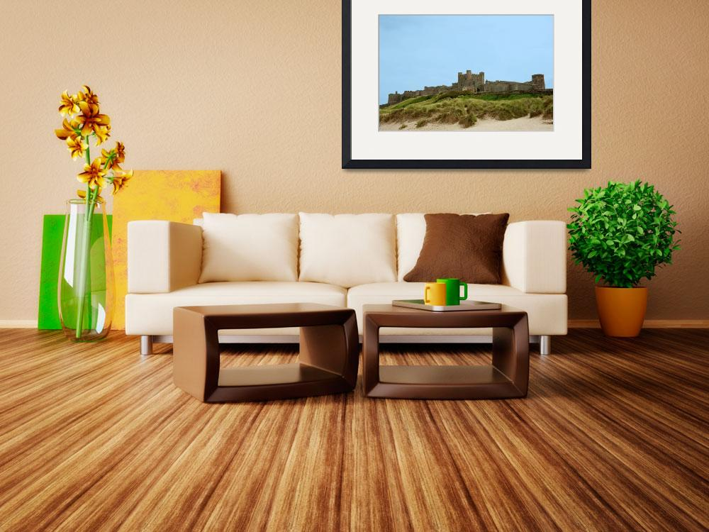 """""""Bamburgh Castle&quot  (2010) by ChrisBarry"""