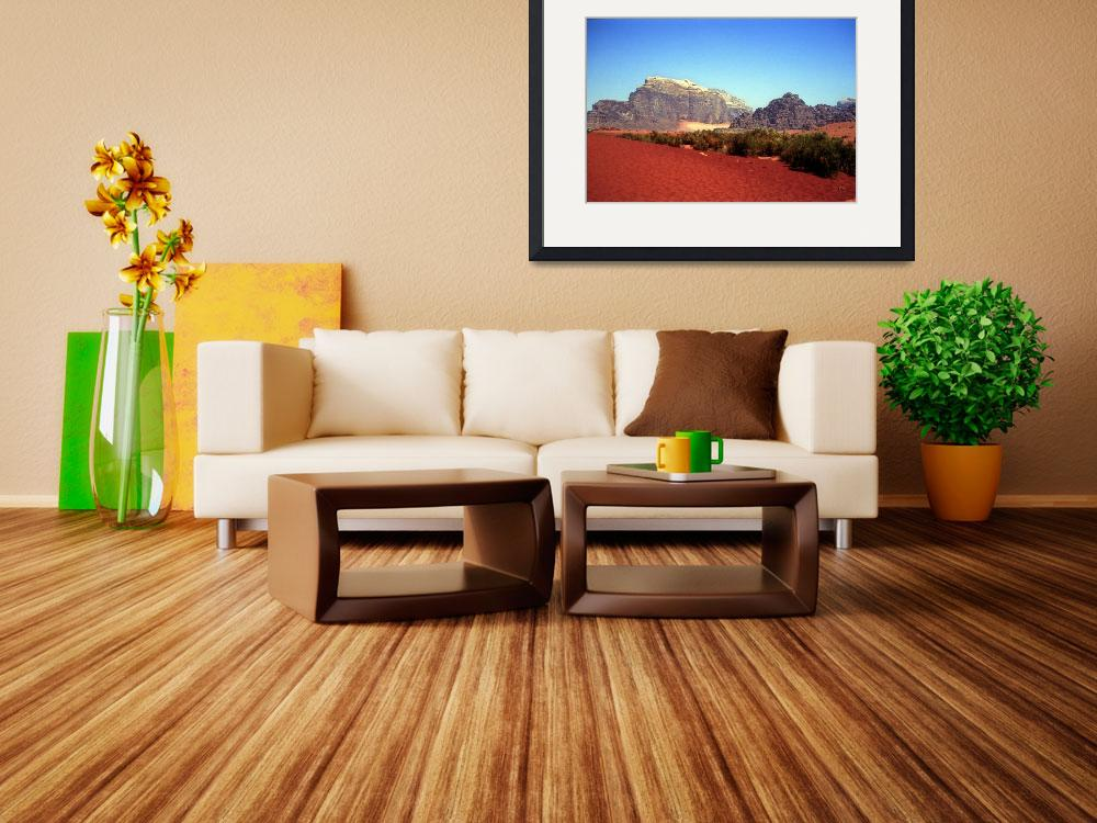 """""""Wadi Rum Red Sands&quot  (2007) by JoaoPonces"""
