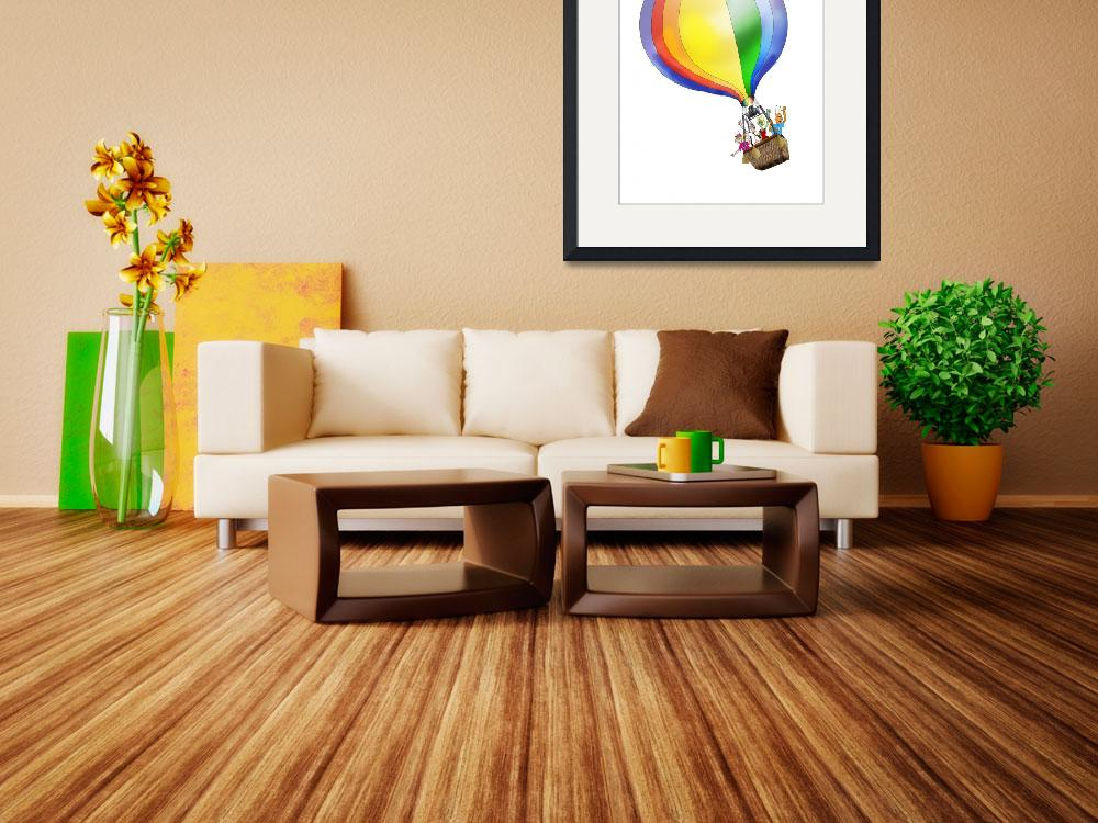 """Zoo Bugs Balloon""  (2010) by LAArtworks"