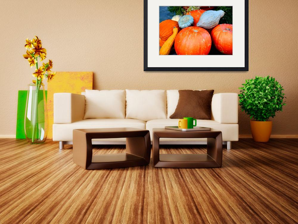 """""""Pumpkin Harvest&quot  (2008) by rayjacque"""