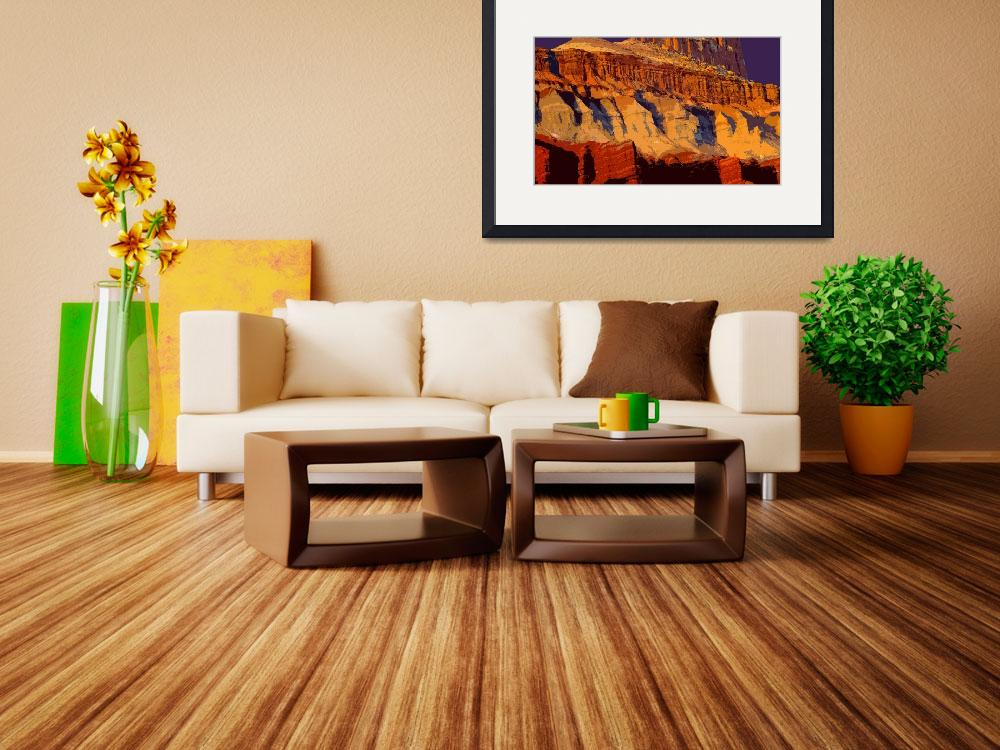 """""""""""Capital Reef Cutout""""""""  (2013) by Uhlinger"""