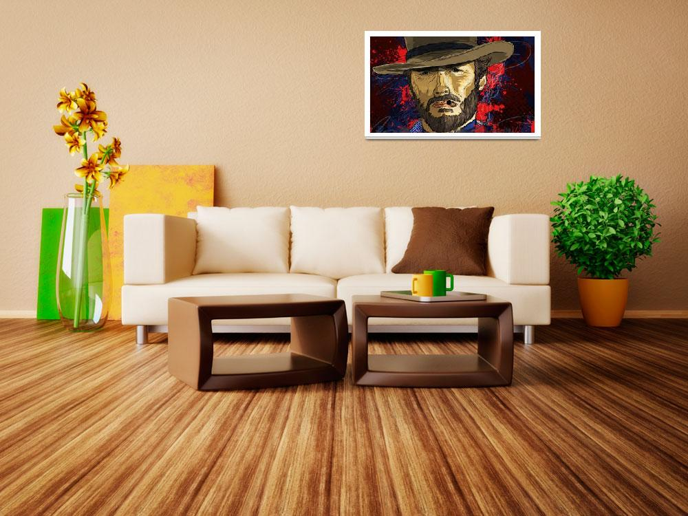 """The Coolness of Mr. Eastwood by Todd Bane&quot  (2015) by tBaneArt"